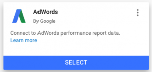 Adwords Connector