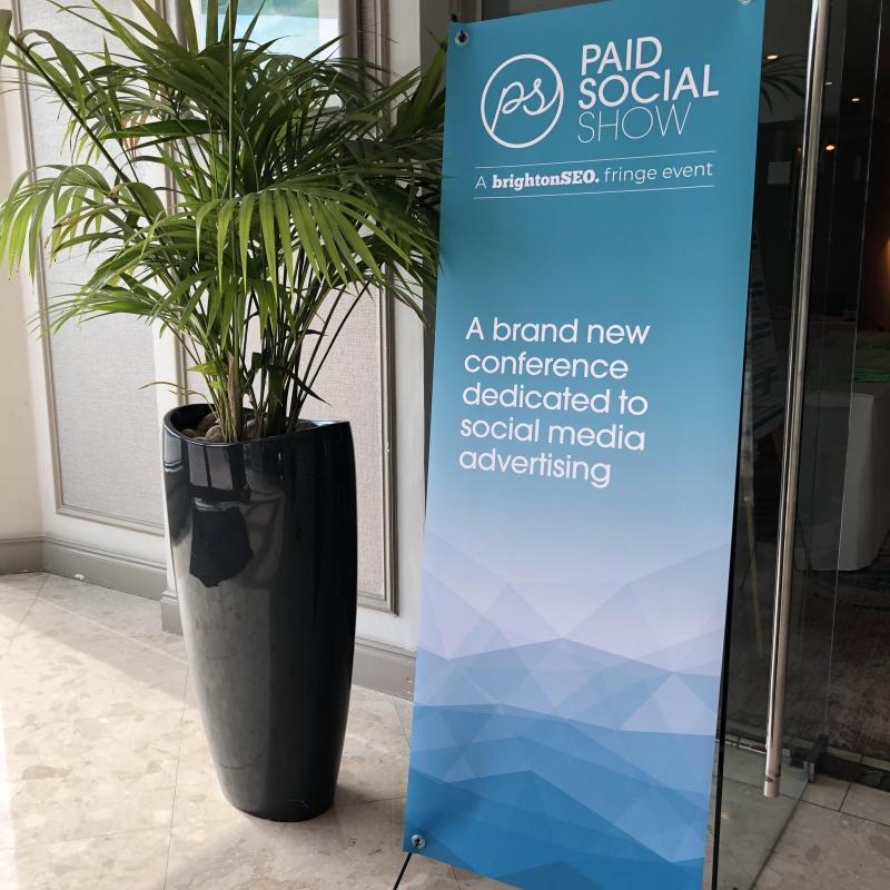 Brighton SEO and Paid Social Show 2019